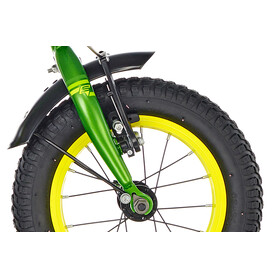 s'cool XXlite 12 Barncykel steel grön
